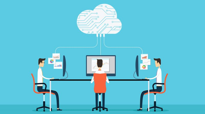 How to Increase Work Efficiency with a Cloud-based System