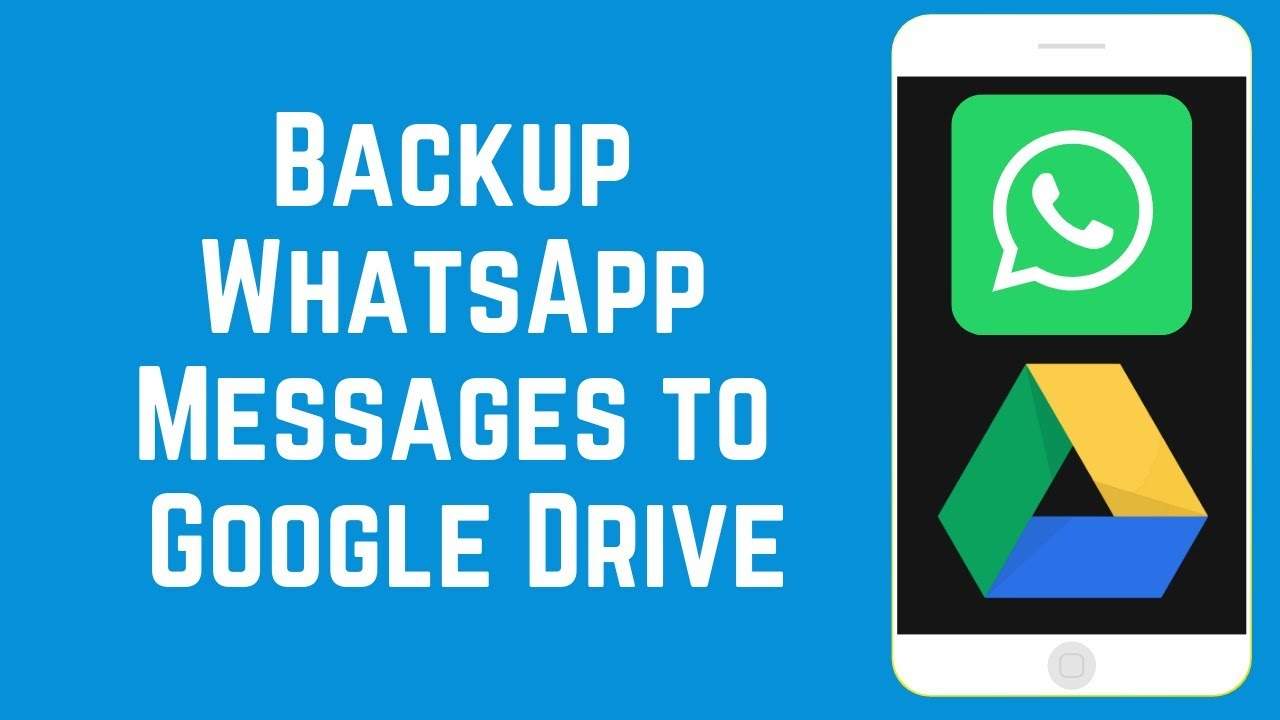 Backup of WhatsApp on Google Drive Will Be Soon