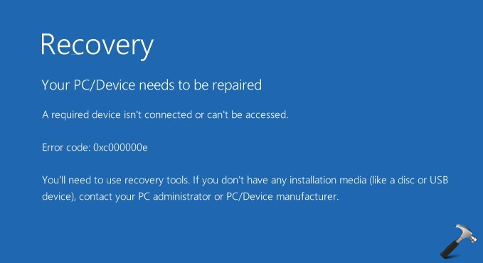How To Overcome Errors A Required Device Is Not Connected Or Cannot Be Accessed On Windows 10