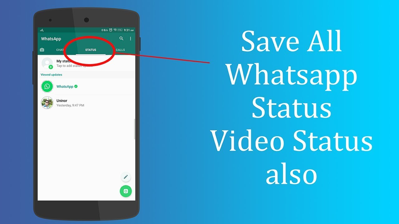 How To Save Whatsapp Status Of Friends Without Screenshot