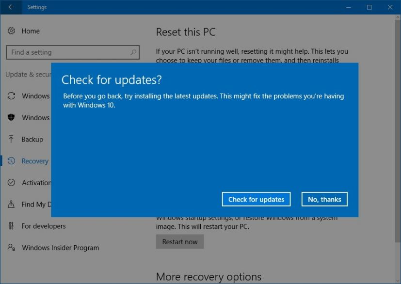How To Overcome The Windows 10 Update Feature Does Not Appear
