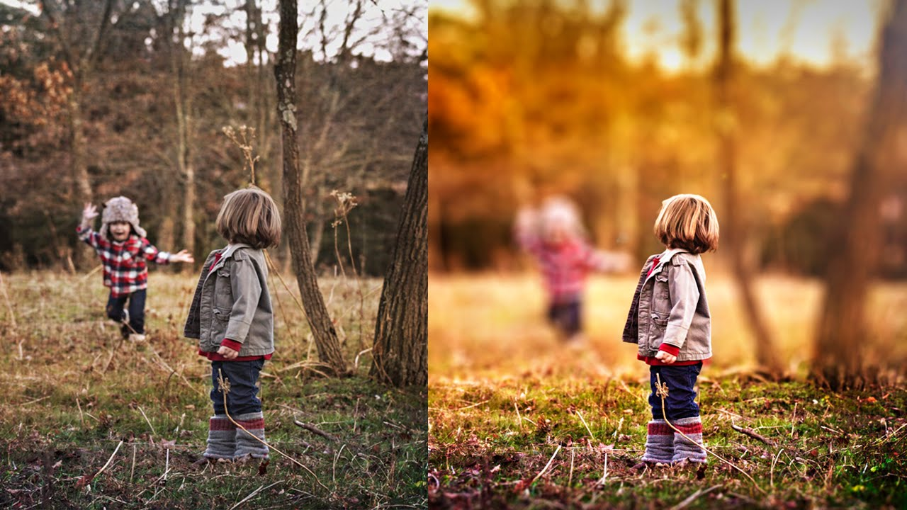 How To Make A Blur Effect On Photo Background
