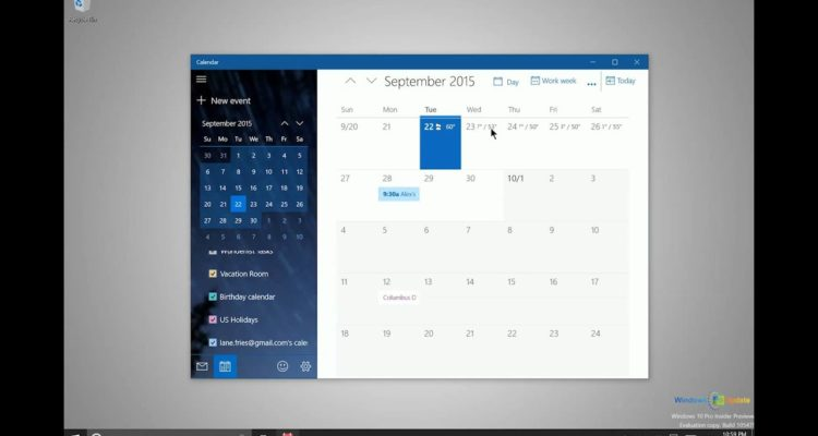 How To Add Events / Reminders On Windows Calendar 10