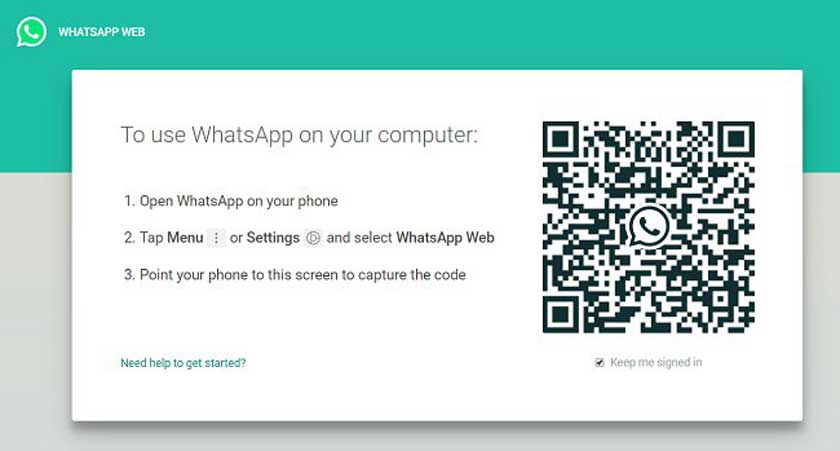 WhatsApp account