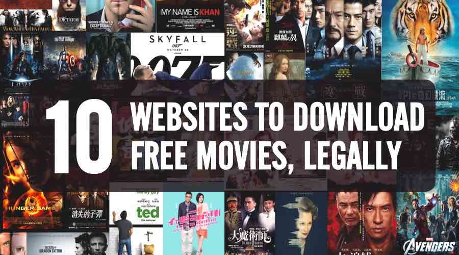 10 Websites To Watch And Download New Movies For Free
