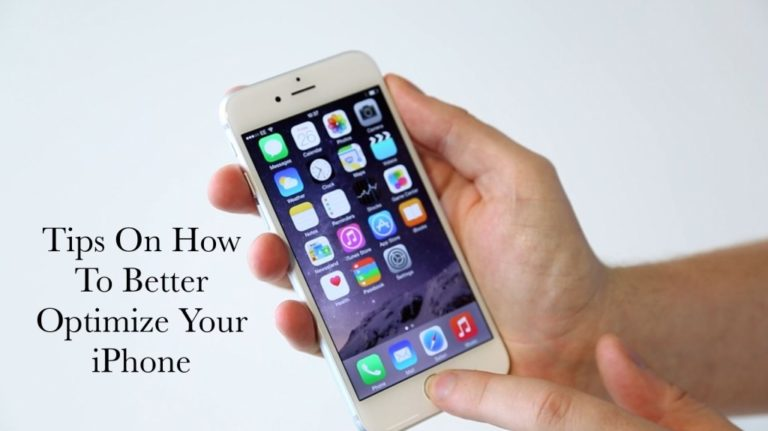 How To Optimize Your iphone?