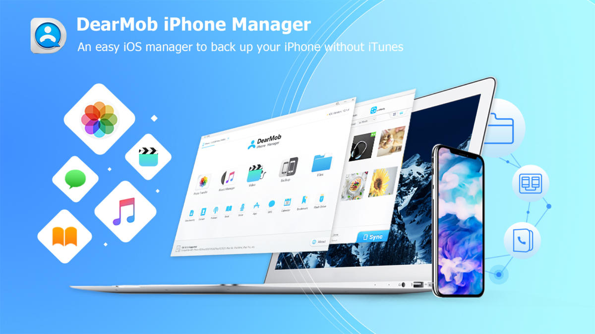 How to Back Up Your iPhone With DearMob iPhone Manager