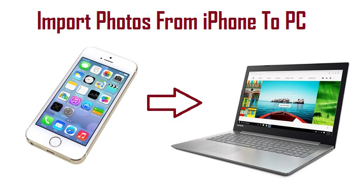 Import Photos From iphone To PC