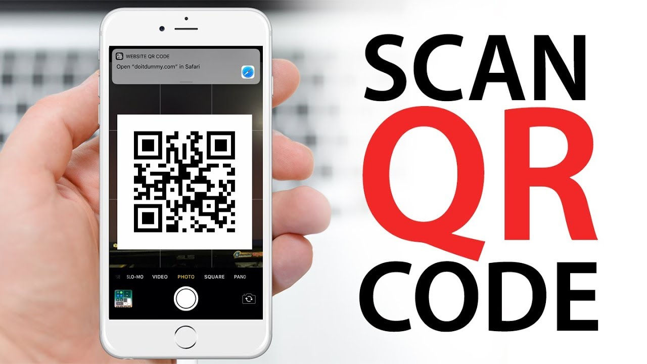 Scan QR Code With Your iPhone