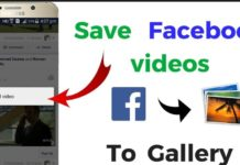 Saving Facebook Videos on Android and iOS