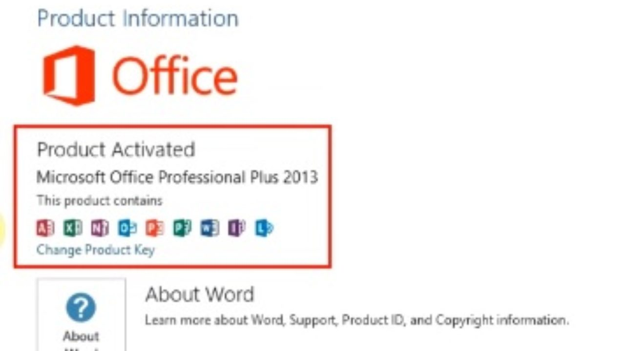 How To Find Window And Office 2016 Product Key