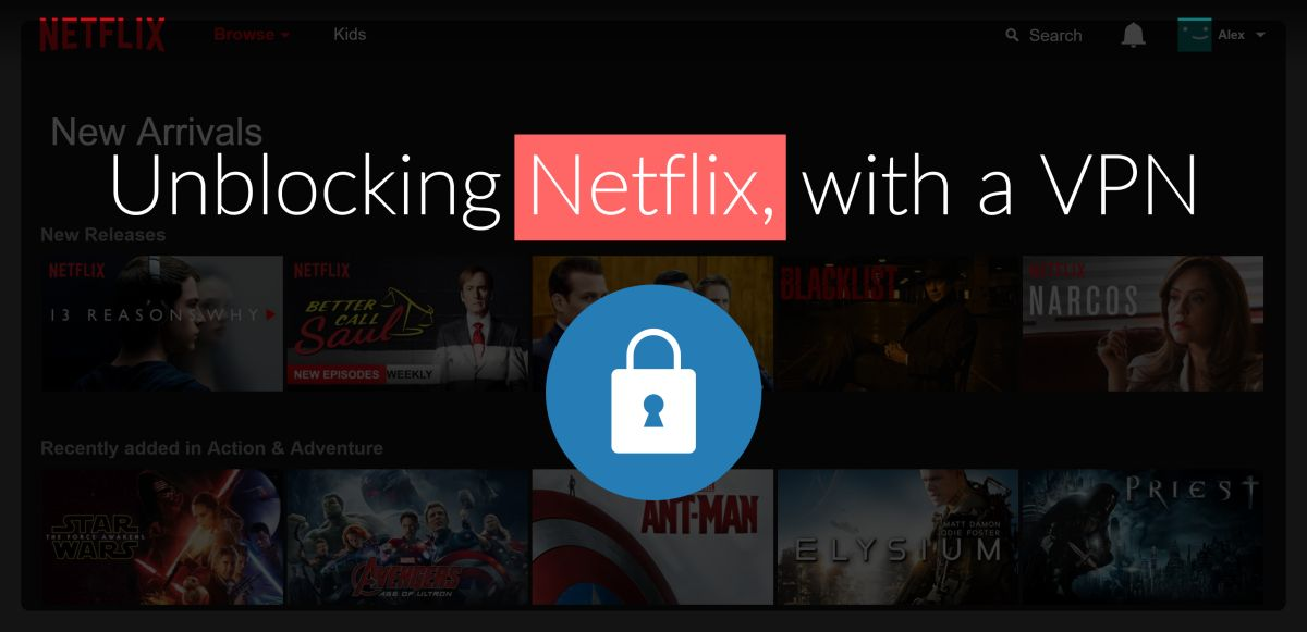 How To Unblock Netflix With a Best VPN