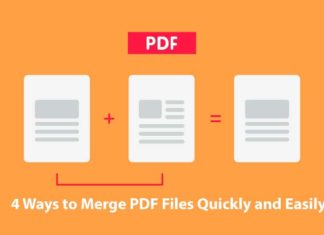 4 Ways to Merge PDF Files Quickly and Easily