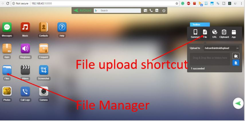 How to Use AirDroid to Access Smartphone Files on a PC