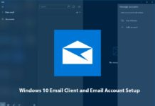 Windows 10 Email Client and Email Account Setup