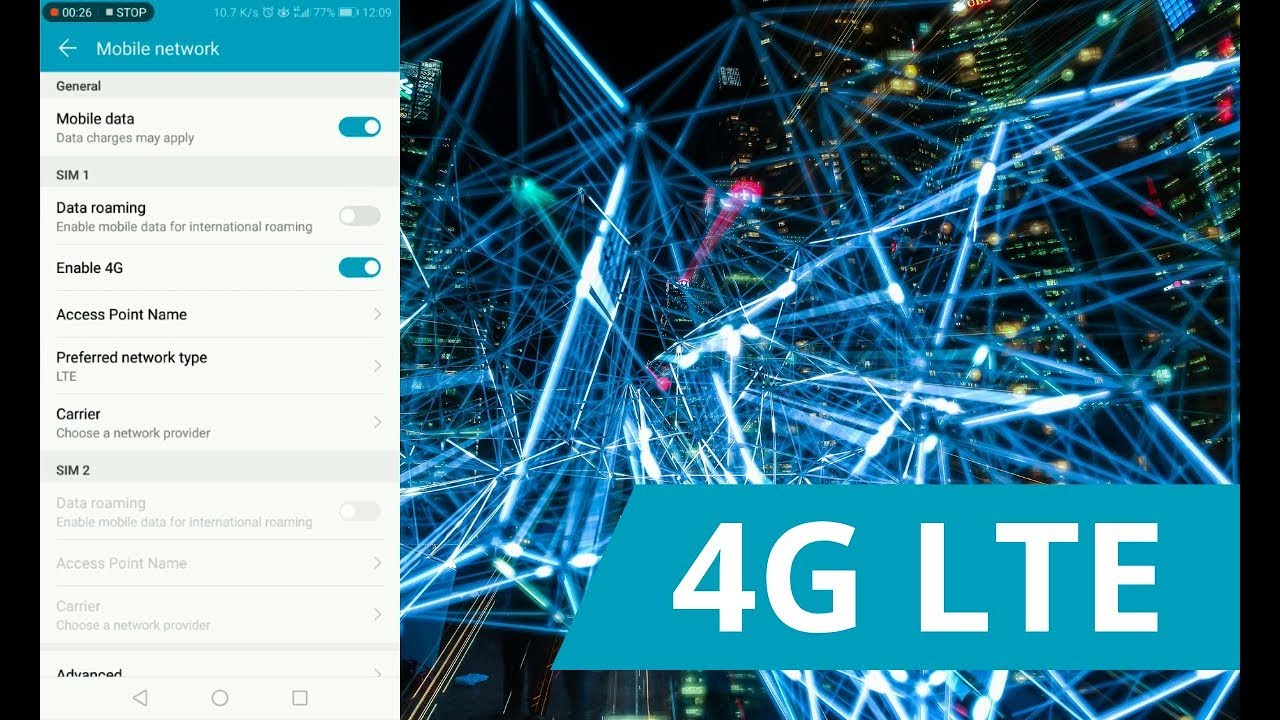 How to Force 4G Network on Android Smartphones