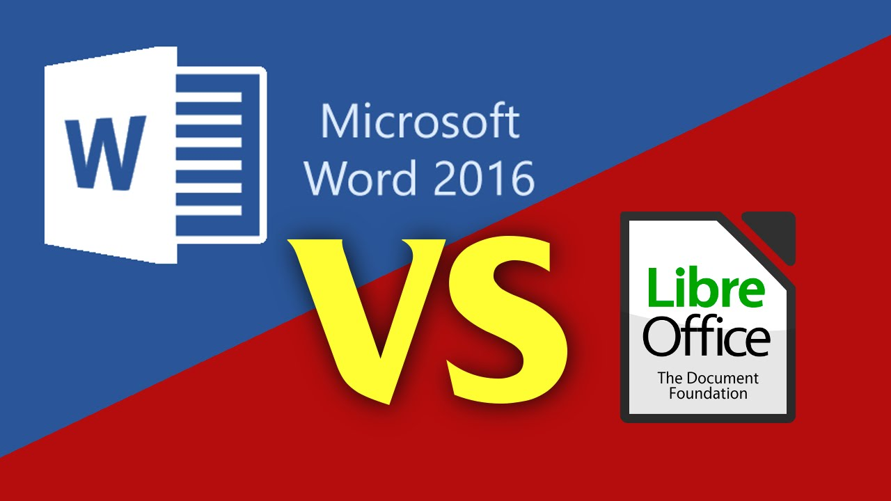 Microsoft Office vs  LibreOffice: Choose the Best Office Suite