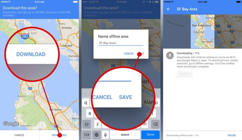 How to Download a Plan to Use Google Maps Offline