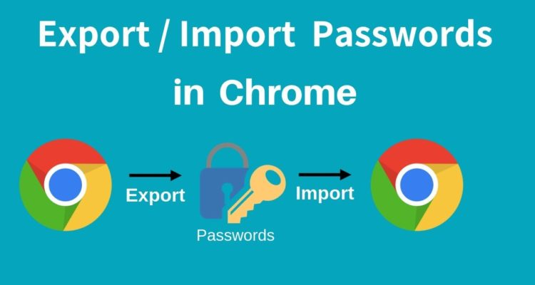 How to Import and Export Passwords from Chrome?