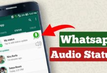 How to Put an Audio Song in WhatsApp Status