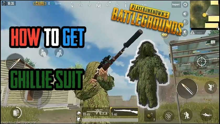 How to Get a Free Grass or Ghillie Suit at PUBG Mobile