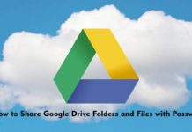 How to Share Google Drive Folders and Files with Password