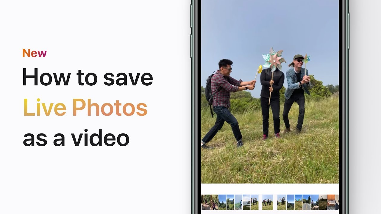 iOS 13 | How to Create a Video with Live Photos