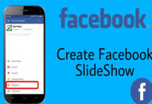 How to Create a Image Slideshow on Facebook?