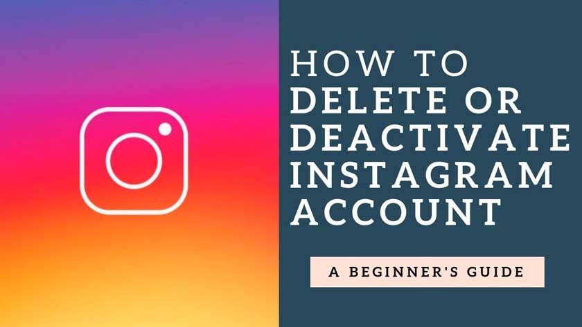 How to Delete or Disable an Instagram Account