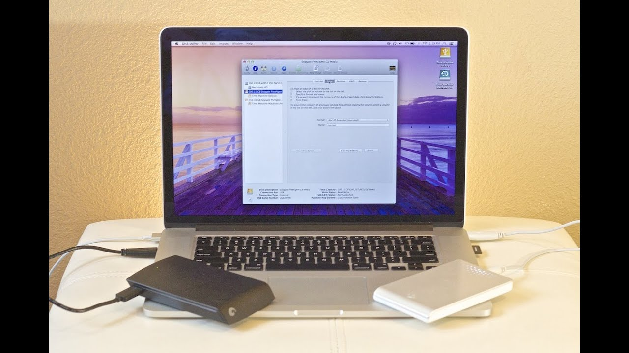 How to Format your External Hard Drive to run on Windows and MAC?