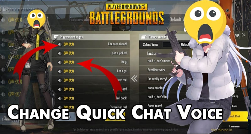 How to Change the Quick Chat Sound