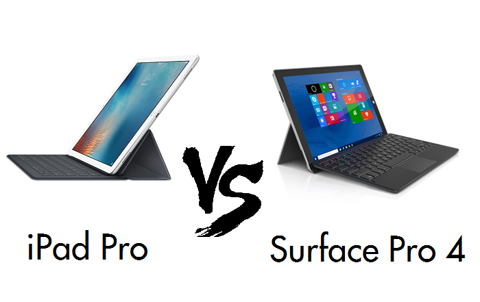 iPad Pro vs Surface Pro 4 | Detailed comparison