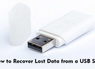 How to Recover Lost Data from a USB Stick