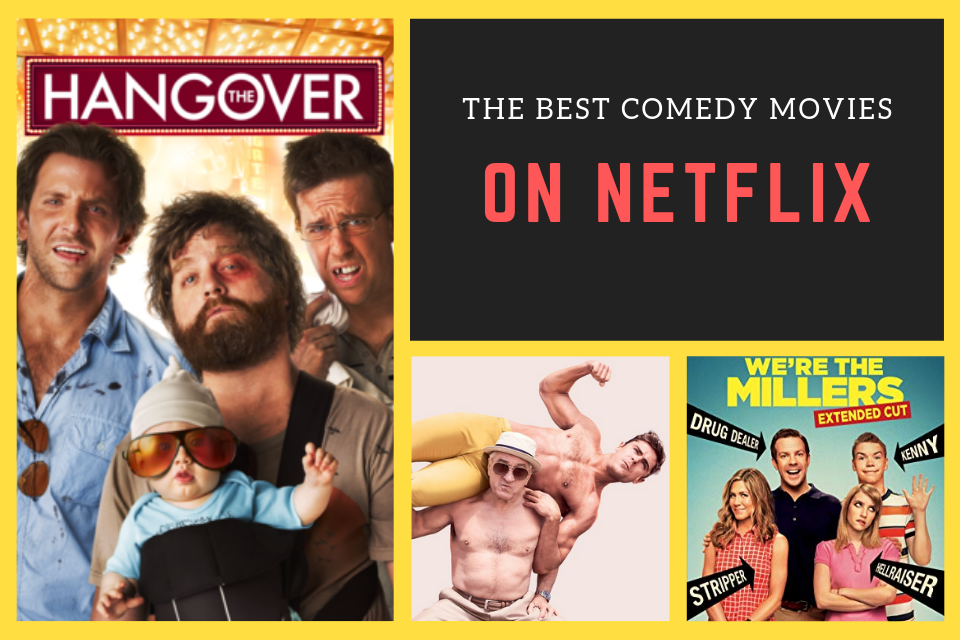 Best 5 Comedy Movies on Netflix 2019