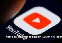 Here's an Easy Way to Display IDM on YouTube?