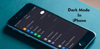 The Dark Mode for Secret iPhone that you don't know