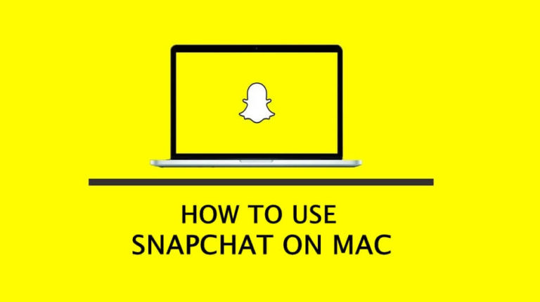 How to use Snapchat on MAC   EASY GUIDE 2019