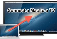 How to Connect the Mac to the TV - Wireless or Cable