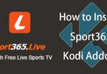 Sport365 Live Kodi Addon: how to install it