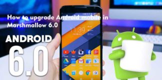 How to upgrade Android mobile in Marshmallow 6.0