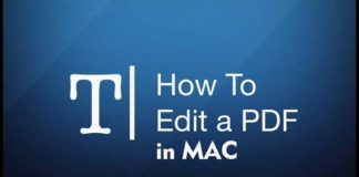 Here is How to Edit a PDF in Mac