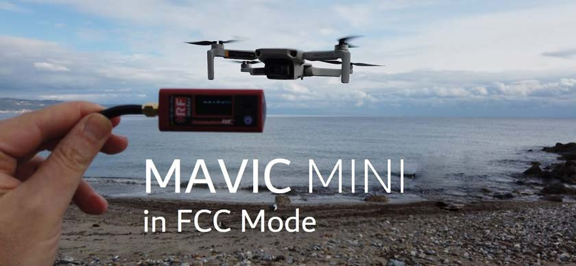 FCC mode on DJI Mavic Mini