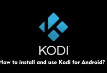 How to install and use Kodi for Android?
