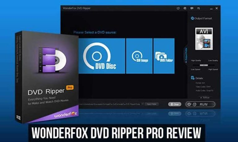WonderFox DVD Ripper Pro | Copy any file from DVD to computer