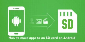 How to move apps to an SD card on Android