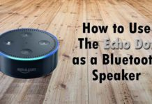 Use Amazon Echo Dot as any bluetooth speaker