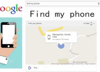 How to locate a mobile phone with Google