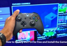 How to Modify the PS4 for free and Install the Games