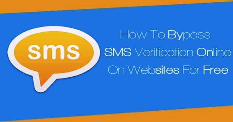 How To Bypass Phone Sms Verification On Any Website