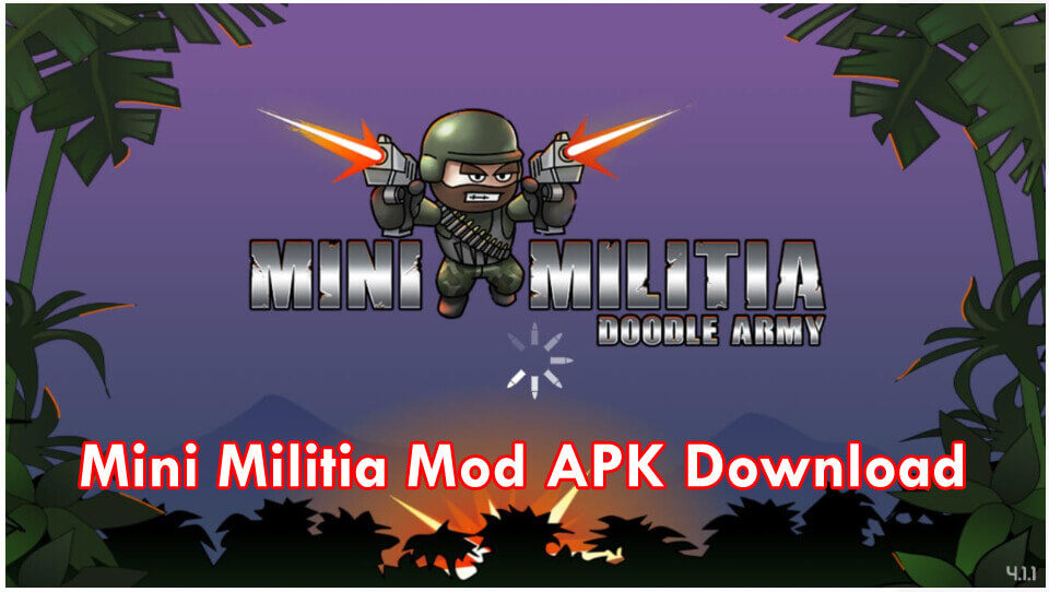 Mini Militia Mod Apk | ALL UNLIMITED